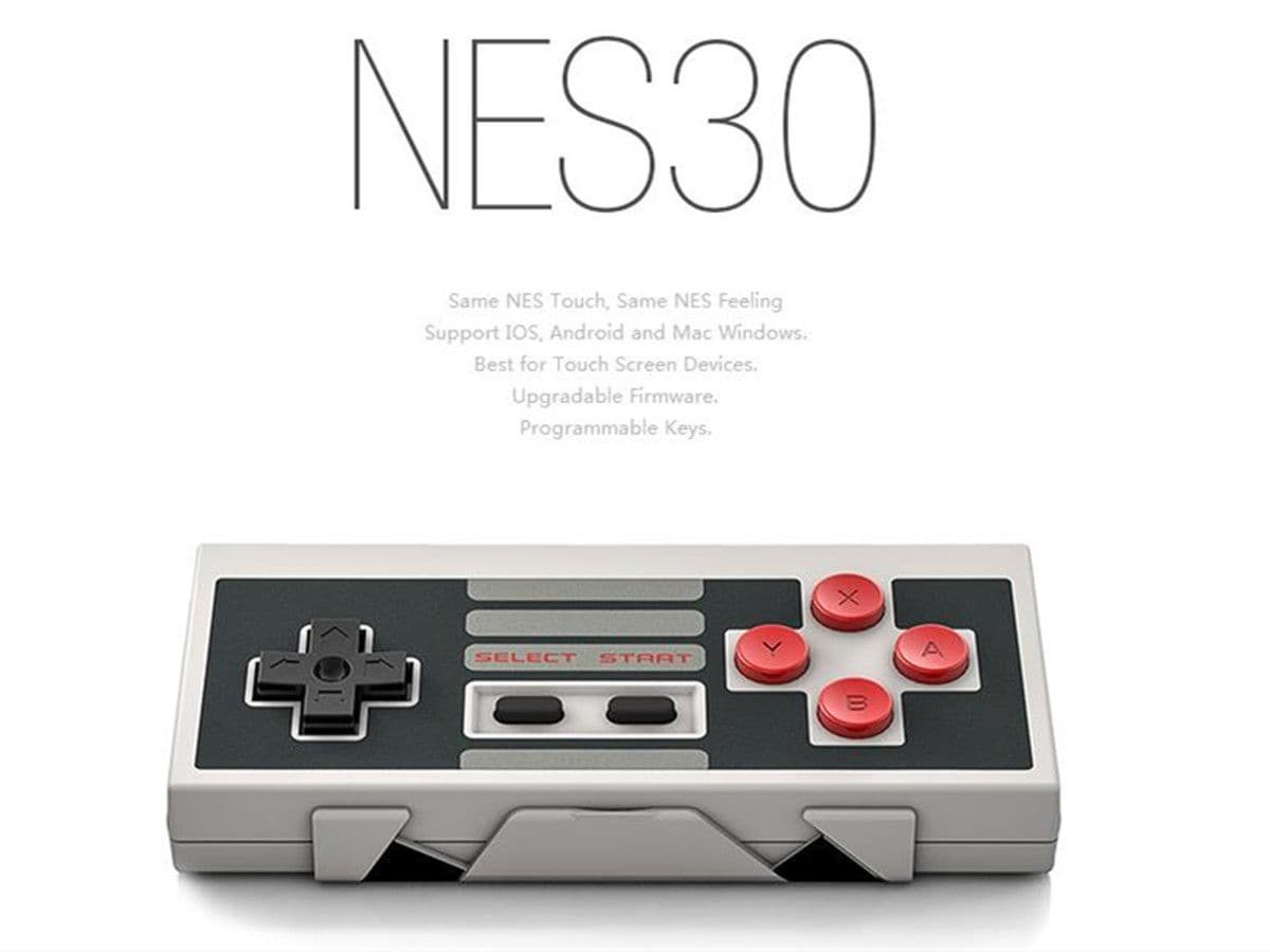 8Bitdo Nes30 Wireless Bluetooth Controller Dual Classic Joystick Pc