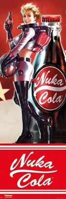 Fallout 4 Nuka Cola Door Poster 53x158cm
