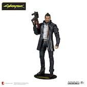 Cyberpunk 2077 Action Figure Takemura 18 cm Black