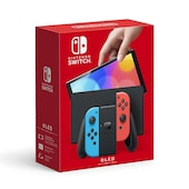 Nintendo Switch OLED Console - Neon Blue/Neon Red