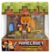 Mattel Minecraft Steve na osiołku FVH14