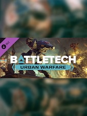 BATTLETECH Urban Warfare Steam Key GLOBAL