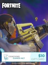 Fortnite Coaching Gift Card Coaching-Games.net GLOBAL Key 10 USD