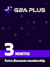 G2A PLUS Subscription (3 Months) - G2A.COM Key - GLOBAL