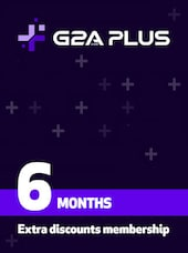 G2A PLUS Subscription (6 Months) - G2A.COM Key - GLOBAL