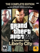Grand Theft Auto IV Complete Edition Steam Gift EUROPE