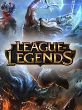 League of Legends Riot Points Riot 7200 RP Key EUROPE WEST