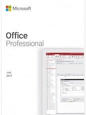 Microsoft Office Professional 2019 (PC) - Microsoft Key - GLOBAL