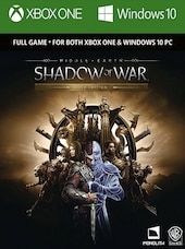 Middle-earth: Shadow of War Gold Edition Xbox Live Xbox One Key GLOBAL