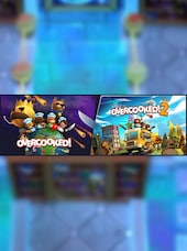 OVERCOOKED! 1 & 2 BUNDLE Steam Key GLOBAL