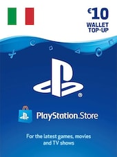 PlayStation Network Gift Card 10 EUR - PSN ITALY