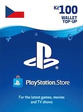 PlayStation Network Gift Card 100 CZK PSN CZECH REPUBLIC