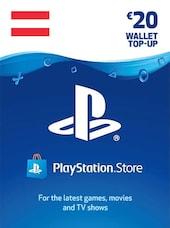 PlayStation Network Gift Card 20 EUR - PSN AUSTRIA