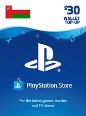 PlayStation Network Gift Card 30 USD - PS4 - OMAN