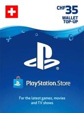 PlayStation Network Gift Card 35 CHF - PSN SWITZERLAND