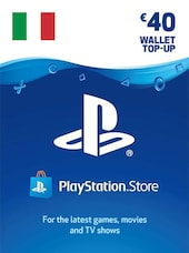 PlayStation Network Gift Card 40 EUR - PSN ITALY