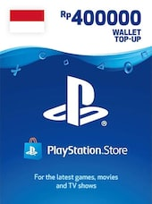 PlayStation Network Gift Card 400 000 RP - PSN INDONESIA