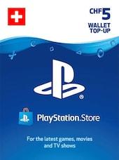 PlayStation Network Gift Card 5 CHF - PSN SWITZERLAND
