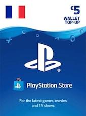 PlayStation Network Gift Card 5 EUR - PSN FRANCE