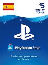 PlayStation Network Gift Card 5 EUR - PSN Key - SPAIN
