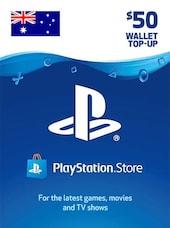 PlayStation Network Gift Card 50 AUD PSN AUSTRALIA