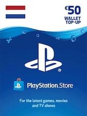 PlayStation Network Gift Card 50 EUR - PSN NETHERLANDS