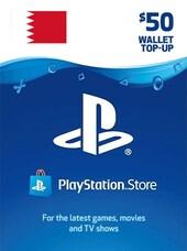 PlayStation Network Gift Card 50 USD - PSN Key - BAHRAIN