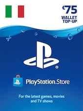 PlayStation Network Gift Card 75 EUR - PSN ITALY