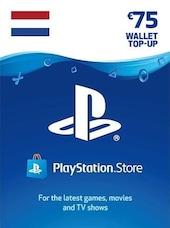 PlayStation Network Gift Card 75 EUR - PSN Key - NETHERLANDS