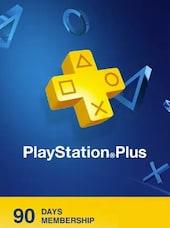 Playstation Plus CARD 90 Days PSN GREECE