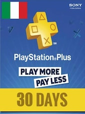 Playstation Plus Trial CARD PSN ITALY 30 Days