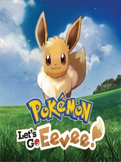 Pokémon: Let's Go, Evee! Nintendo Key Nintendo Switch UNITED STATES