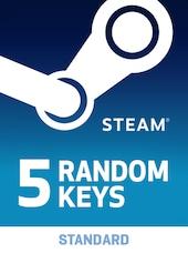 Random 5 Keys Steam Key GLOBAL