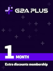 G2A PLUS Subscription (1 Month) - G2A.COM Key - GLOBAL