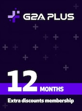 G2A PLUS Subscription (12 Months) - G2A.COM Key - GLOBAL