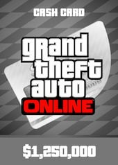 Grand Theft Auto Online: Great White Shark Cash Card 1 250 000 PC Rockstar Key GLOBAL