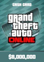 Grand Theft Auto Online: Megalodon Shark Cash Card PC 8 000 000 Rockstar Key GLOBAL
