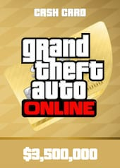Grand Theft Auto Online: The Whale Shark Cash Card 3 500 000 PS3 PSN Key GERMANY