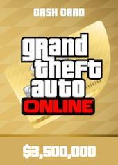 Grand Theft Auto Online: The Whale Shark Cash Card PC 3 500 000 Rockstar Key GLOBAL