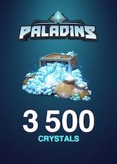 Paladins Crystals Key GLOBAL 3 500 Crystals