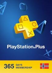 Playstation Plus CARD 365 Days PSN NORWAY