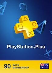 Playstation Plus CARD 90 Days AUSTRALIA PSN