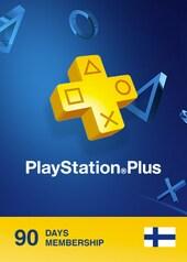 Playstation Plus CARD 90 Days PSN FINLAND
