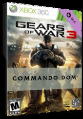Gears of War 3: COMMANDO DOM Xbox Live Code XBOX ONE GLOBAL