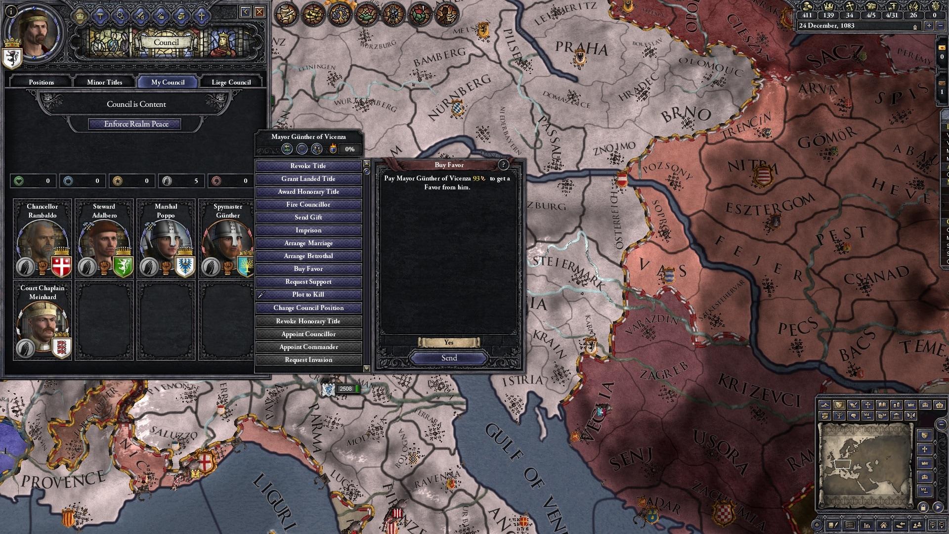 Crusader Kings II - Conclave Steam Key GLOBAL