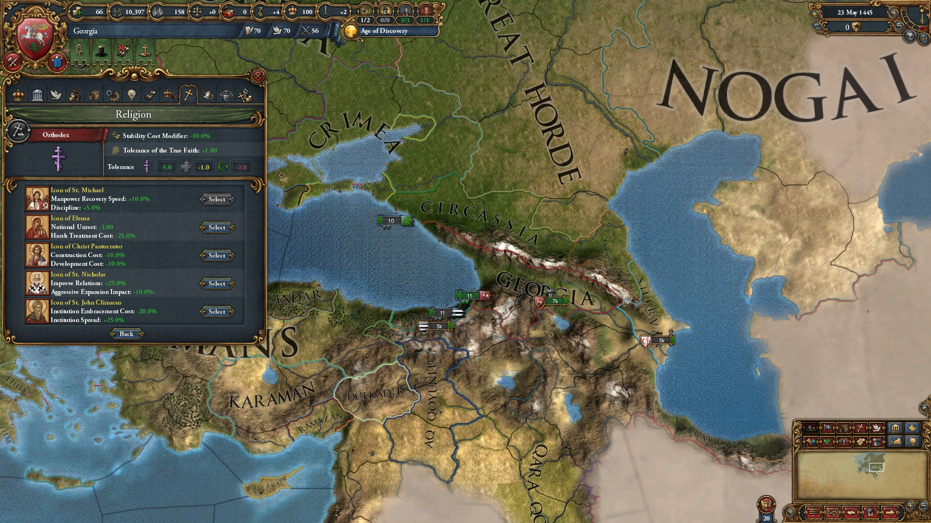 Immersion Pack - Europa Universalis IV: Third Rome Key Steam GLOBAL