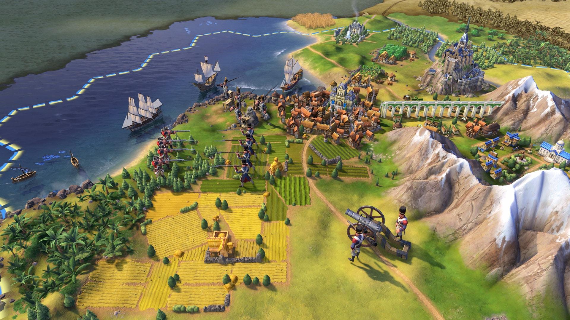 Sid Meier's Civilization VI Digital Deluxe Steam Key GLOBAL