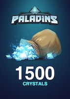 Paladins Crystals GLOBAL 1 500 Crystals Key
