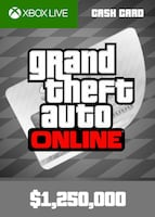 Grand Theft Auto Online: Great White Shark Cash Card XBOX LIVE GLOBAL 1 250 000 USD Key