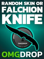 Counter-Strike: Global Offensive RANDOM SKIN OR FALCHION KNIFE CASE CODE BY OMGDROP.COM